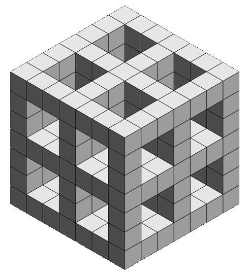 exemple de scene en 3D isométrique