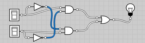circuit logique simple