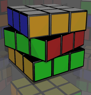 modélisation du rubik's cube
